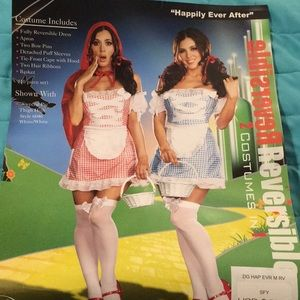 """Dreamgirl """"happily ever after"""" 2 Halloween costume"""